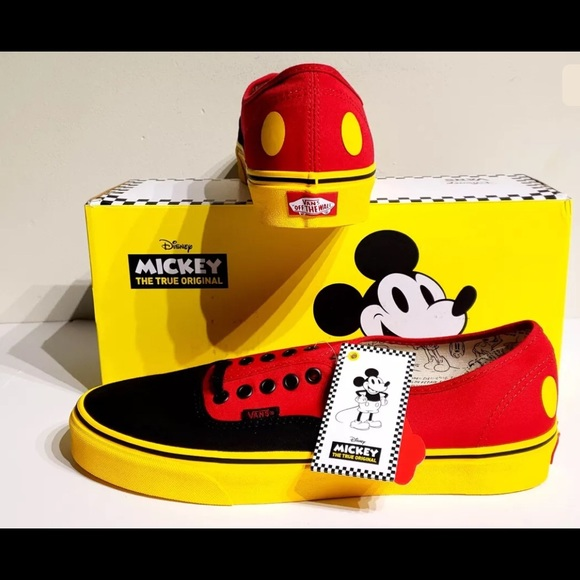fe89a750ab7 Mickey Mouse limited edition Vans